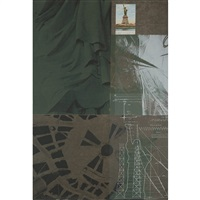 statue of liberty (from new york, new york) by robert rauschenberg