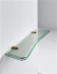 wall-mounted shelf by fontana arte
