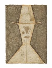 cabeza con sombrero (p. 227) by rufino tamayo