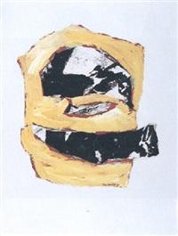 composition jaune, rouge et noire by henri karcher