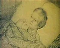 portratt av agaton bernhard nervander (1827-1836) by carl petter mazer