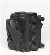 dark cryptic xxii by louise nevelson