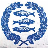 tiga ikan by krijono