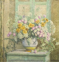 vase of flowers by anna lee stacey