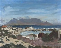 table mountain from milnerton by freida lock