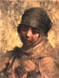 jeune algéroise by georges gasté
