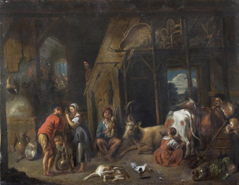 les travaux de la ferme by jacob jordaens