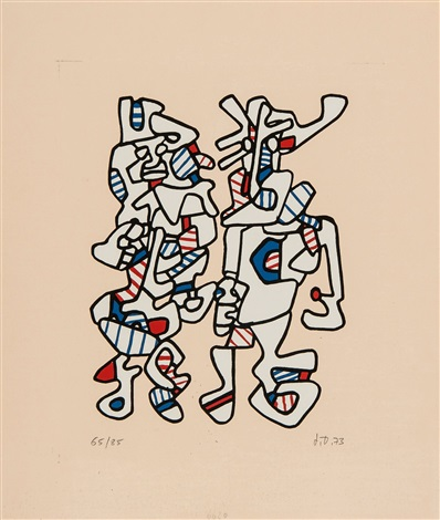 wedding parade by jean dubuffet