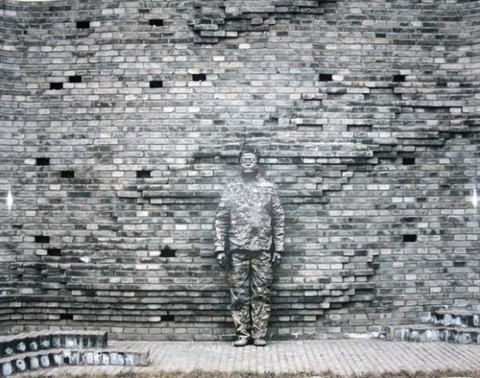 camouflage by liu bolin