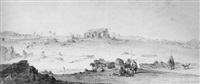 view of part of the ruins of lepida, barbary by augustus earle