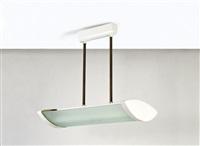 Lampadario ad illuminazione fluorescente by fontana arte on artnet