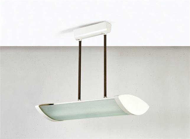 Lampadario ad illuminazione fluorescente by Fontana Arte on ...