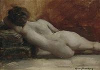 reclining nude by allan douglas davidson