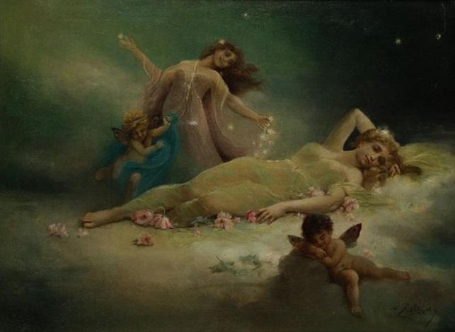 le rêve by hans zatzka
