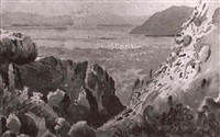 the entrance to the gulf of arta by h. e. (lieutenant) allen