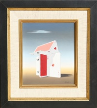 untitled (house of cards) by norman c. black