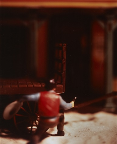 ohne titel from the wild west by david levinthal