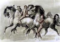pferde und reiter by heinz dullberg