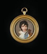 le maréchal murat en buste portant le grand collier de la légion d'honneur by jean urbain guerin