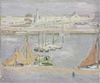 the harbour, la rochelle by william nicholson