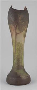 vase à col pincé by françois théodore legras
