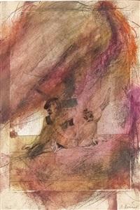 erotische darstellung von peter fendi, aus der pseudologica serie by arnulf rainer