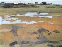 paysage breton by jean le merdy