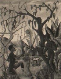 arbre magique by adam leontus