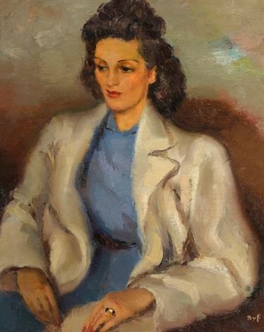 portrait de femme by marcel dyf