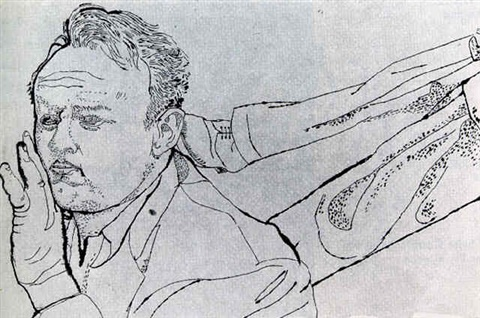 Man With Foot In His Neck Um By Andy Warhol On Artnet