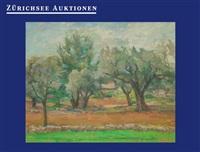 olivenhain by ernst arnold frey