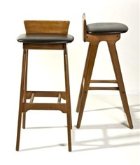 bar stools od-61 (pair) by erik buch
