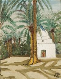 marabout dans l'oasis à tozeur by yahia turki