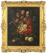 nature morte aux fleurs by nicolaes van veerendael
