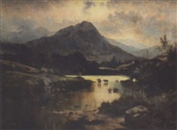 evening in the highlands by henry livings