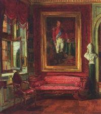 christian viii's værelse på rosenborg by hans peter lindeburg