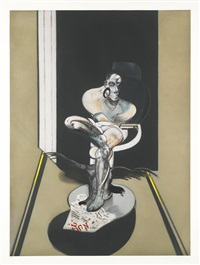 seated figure by francis bacon