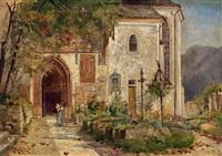 im klosterfriedhof by hermine von janda