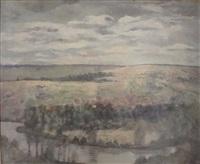 paysage by georgette agutte