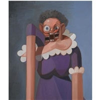 french maid variation by george condo