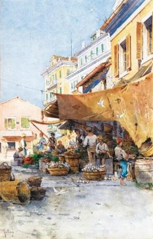 le marché de corfou by angelos giallina
