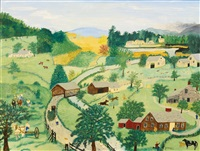 the last load by grandma moses