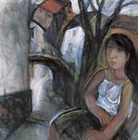 梨园春思 (girl) by ji ping