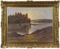 landscape by arthur heickell