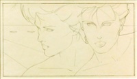 twins by patrick nagel