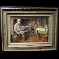 evening news; teatime by henry edward spernon tozer