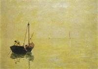 pescadores al amanecer by yvette alde