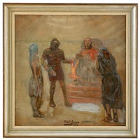 the nightmare of king herod by yuri il'ich repin