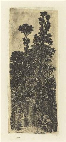 lermite sous les arbres by rodolphe bresdin