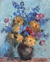 vase de fleurs by maritxu baignol